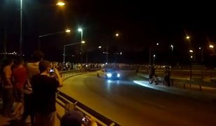 Nocny drift na Cargo Warszawa