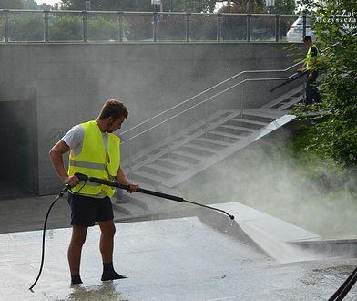 Zarząd Oczyszczania Miasta dba o czystość również pod ziemią