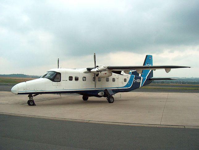 Samolot Dornier Do 228 rozbił się zaraz po starcie