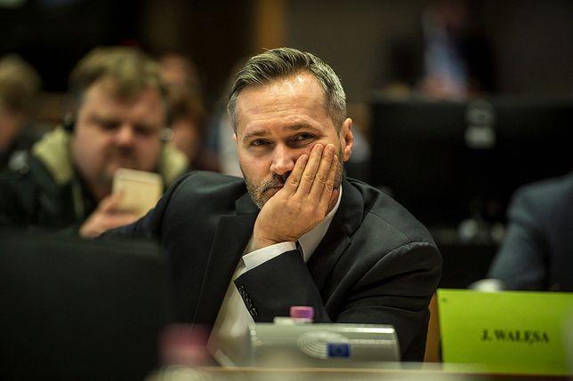 """Jarosław Wałęsa komentuje wystąpienie Mateusza Morawieckiego w gdańskiej sali BHP. """"Jakim trzeba być draniem"""""""