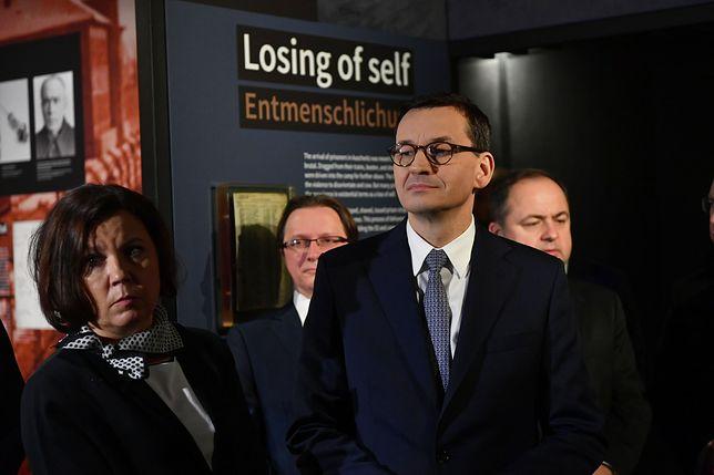 Berlin. Mateusz Morawiecki: sprzeciwiamy się negowaniu i zniekształcaniu historii Holokaustu
