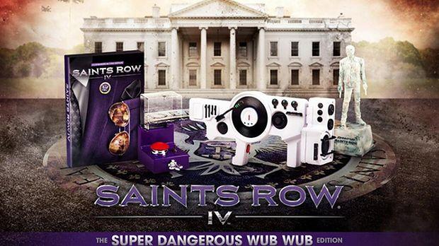 Edycja kolekcjonerska Saints Row IV ogłusza swoim... rozmachem. Albo głupotą