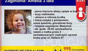 Child Alert. Policja uruchomiła specjalną procedurę, by szukać dziewczynki porwanej w Białymstoku