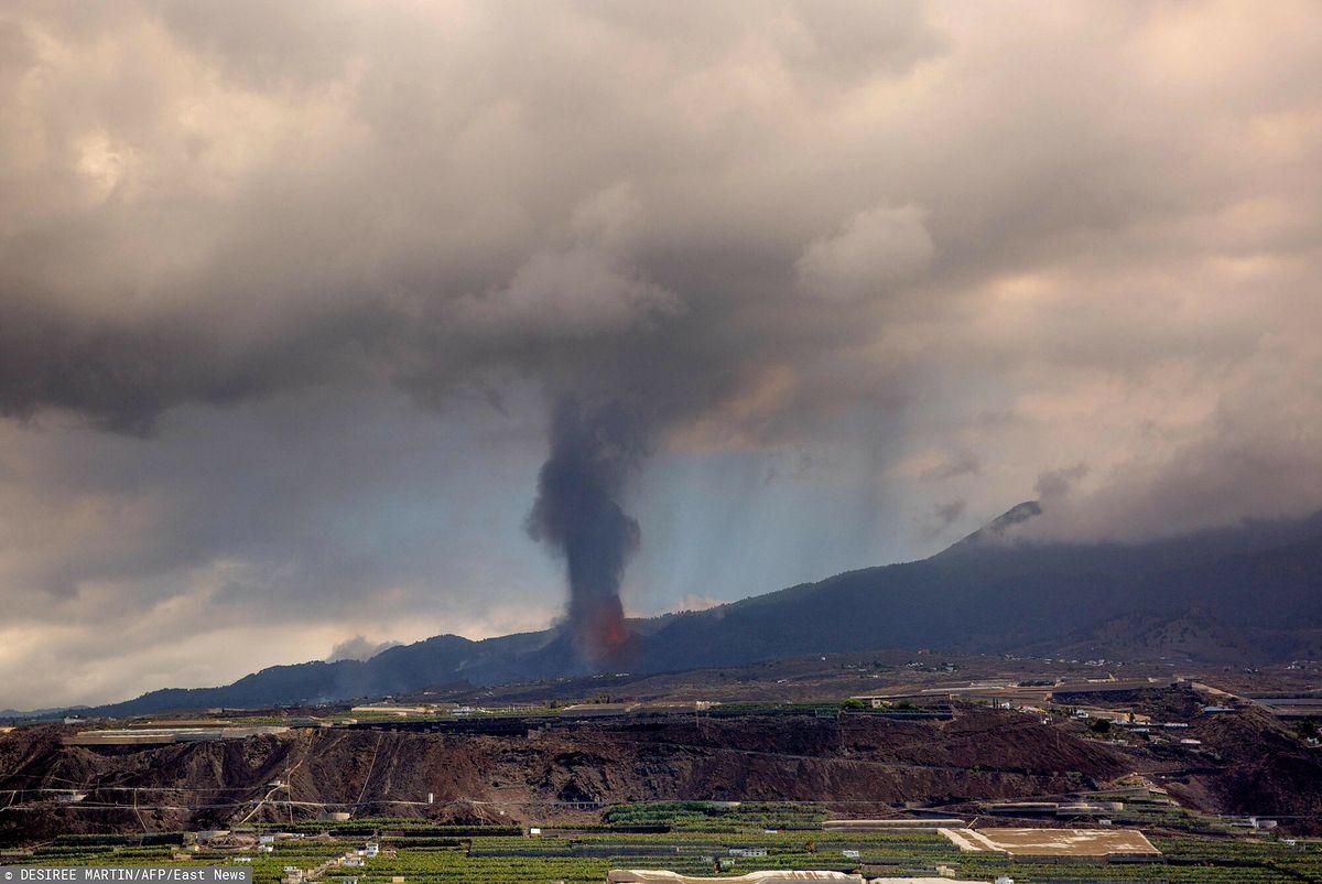 Wybuch wulkanu w Hiszpanii. Toksyczna chmura zmierza do Polski / East News