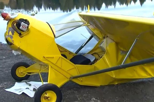 Katastrofa samolotu w USA. Maszyna spadła do jeziora