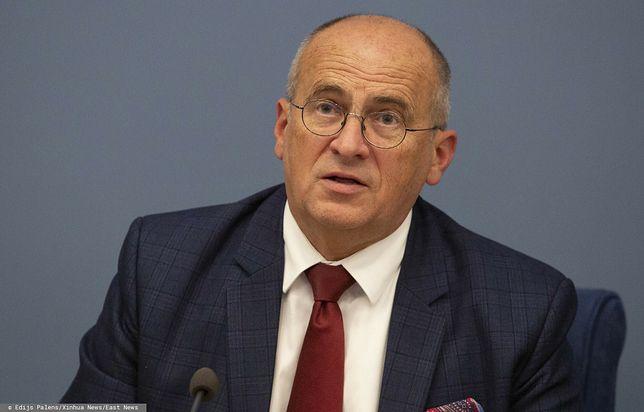 Zbigniew Rau który rządzi w MSZ od 26 sierpnia 2020 r.
