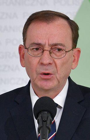Sejm. Mariusz Kamiński o stanie wyjątkowym na granicy z Białorusią