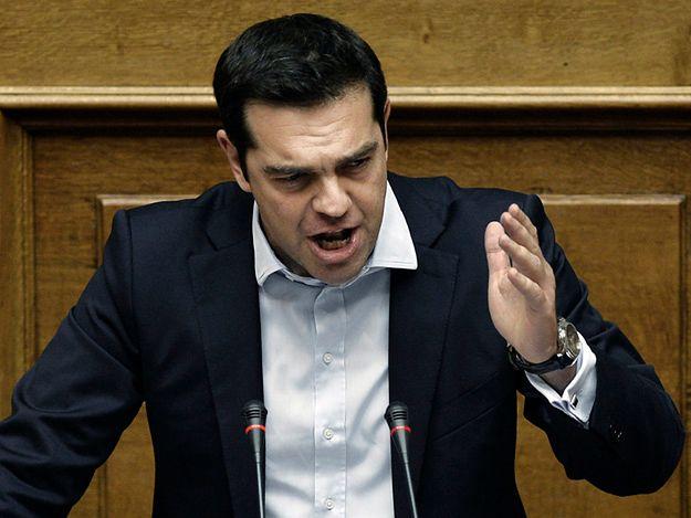 Grecki premier Aleksis Cipras