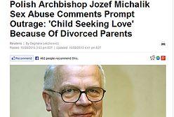 Światowe media o wypowiedzi abp. Józefa Michalika ws. pedofilii