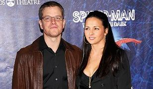 Matt Damon odnawia przysięgę małżeńską