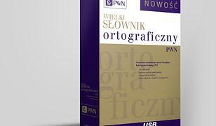 Pendrive. Wielki słownik ortograficzny PWN z zasadami pisowni i interpunkcji.