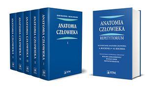 Anatomia człowieka 1-5 plus repetytorium