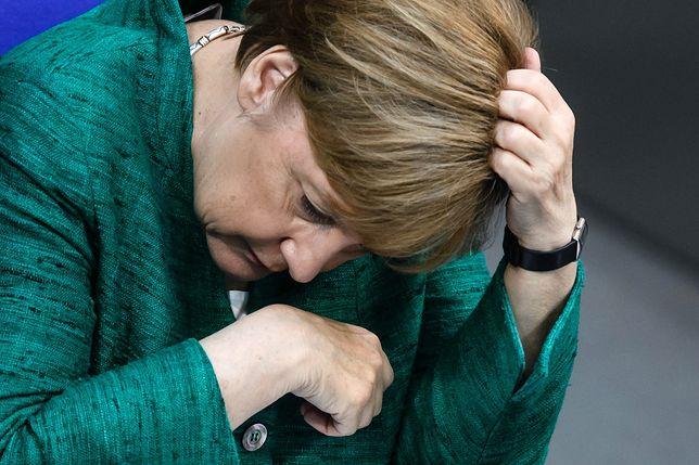 Angela Merkel tłumiła oczekiwania wobec szczytu w Brukseli