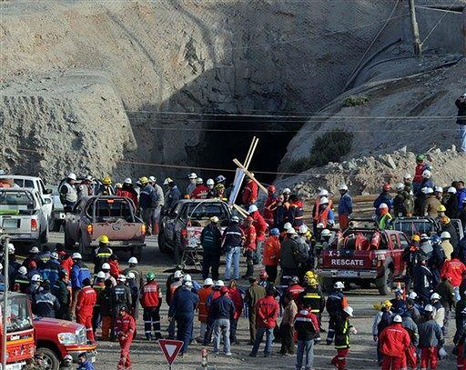 Zasypani górnicy spędzą pod ziemią cztery miesiące