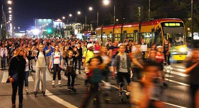 Night Fever, czyli disco na Nightskating Warszawa