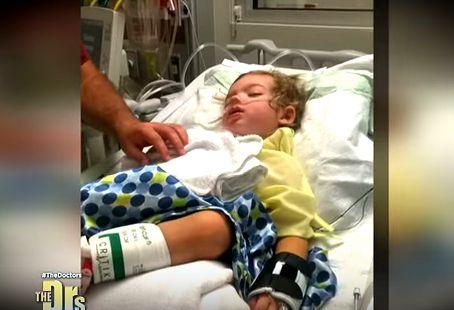 Chłopiec doznał paraliżu pokleszczowego