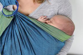 Chusty do noszenia niemowląt są bardzo łatwe w stosowaniu i mogą ułatwić ci spacery