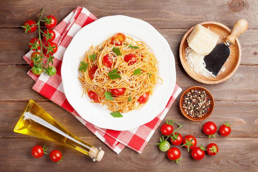 Nawet na diecie możesz pozwolić sobie na spaghetti