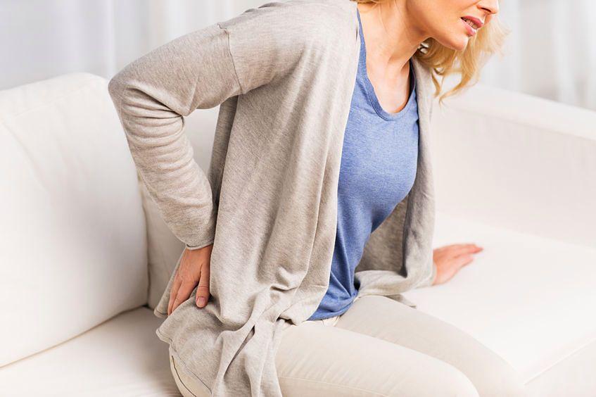 Ból w dolnej części pleców