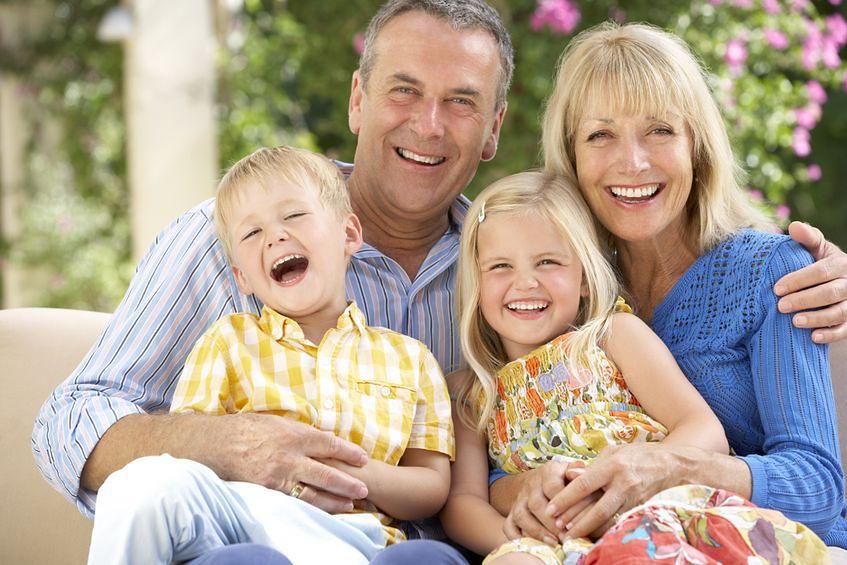 Dziadkowie mają czas, by pomagać