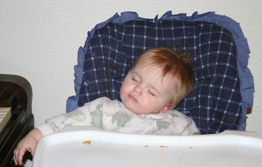 Nawet jedzenie jest męczące