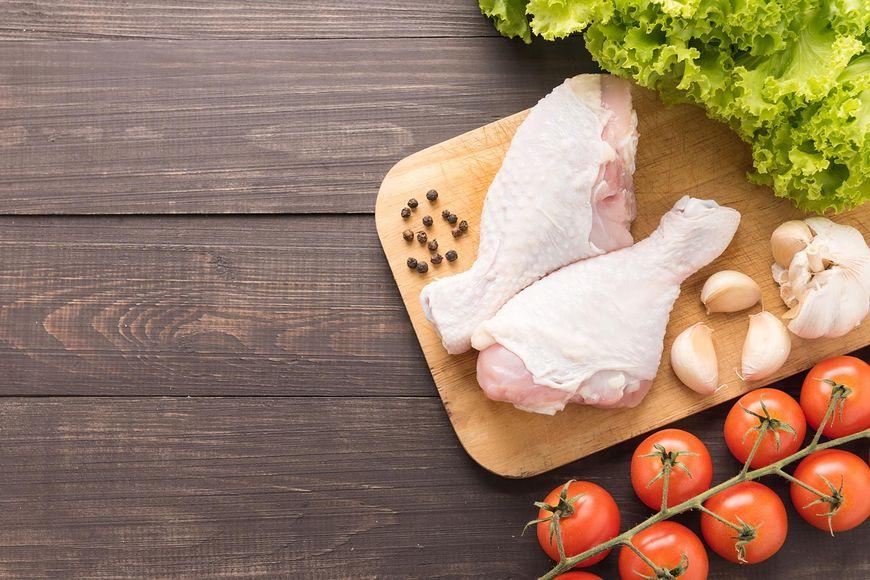 Mięso z kurczaka polecane jest osobom na diecie