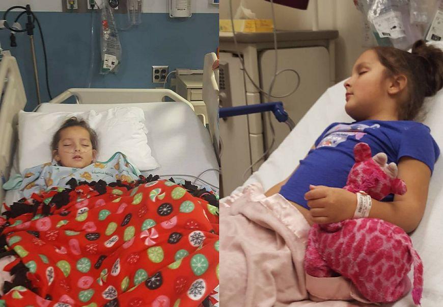 Tessa Puma w szpitalu
