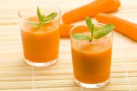 Napój z marchewki na zdrową i piękną skórą. Zobacz, jak go zrobić w domu