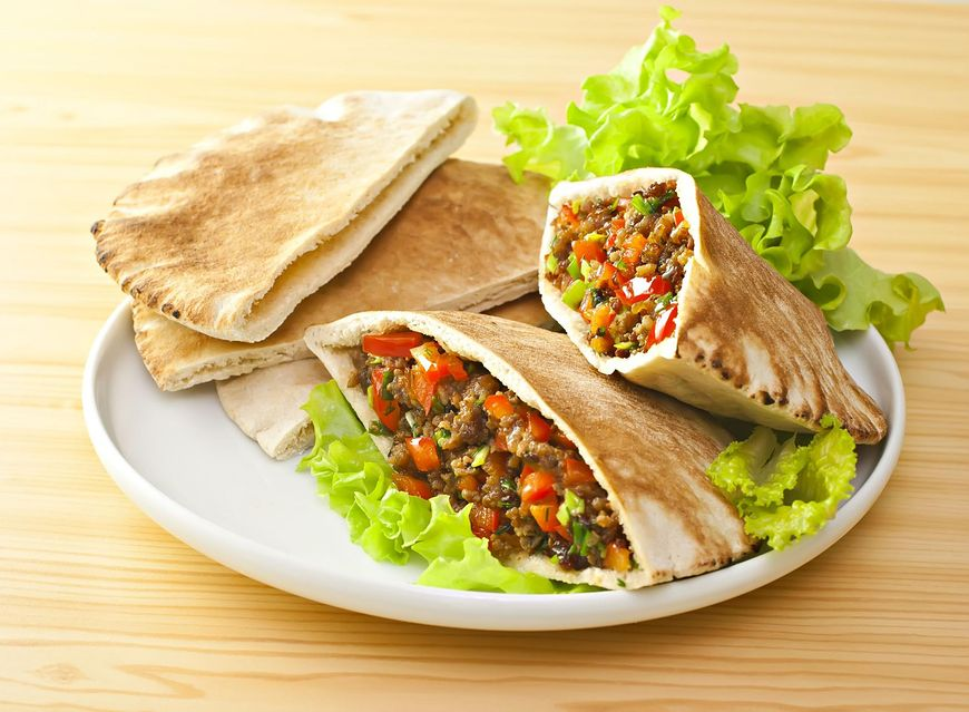 Kebab wegetariański