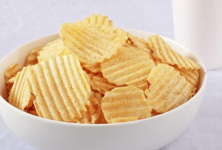 Chipsy zawierają mnóstwo tłuszczów trans