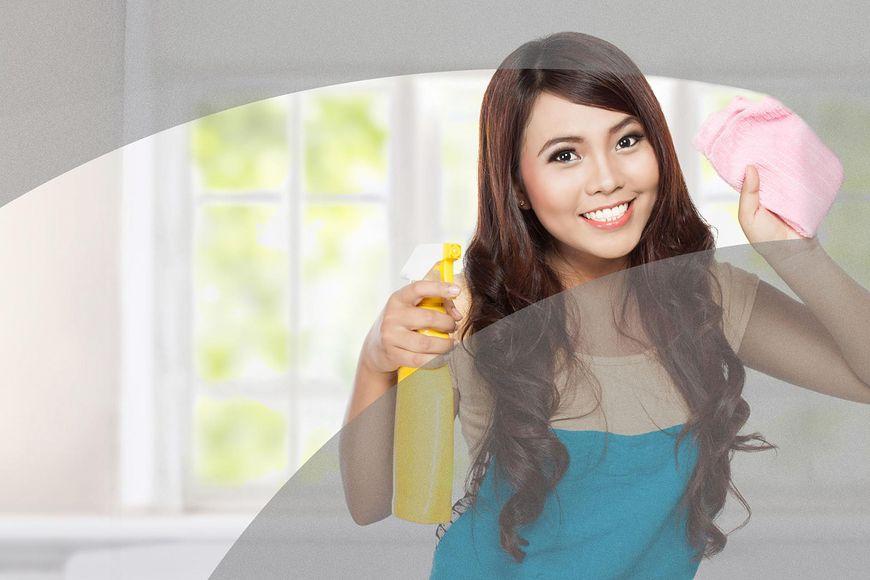 5 sposobów na wykorzystanie płynu do mycia szyb