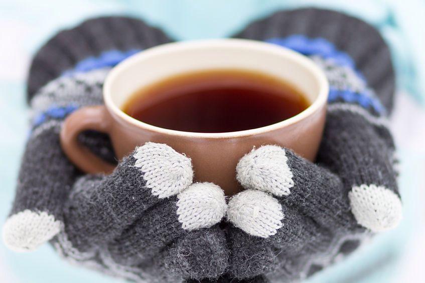 Herbata to typowo zimowy napój