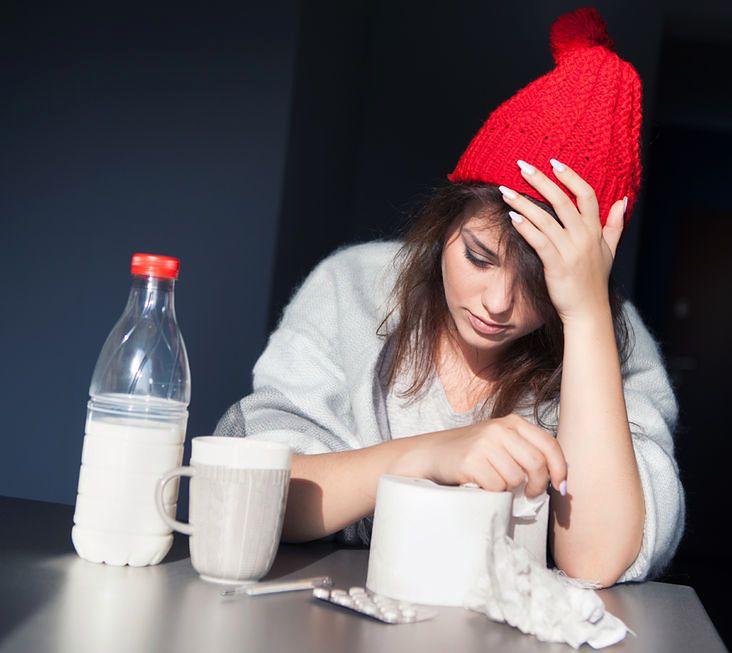 Mleko i miód na przeziębienie i grypę