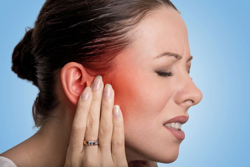 Stan zapalny najczęstszą przyczyną bólu ucha