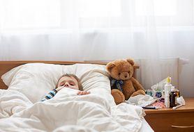 Chore dziecko - co robić? Krok po kroku