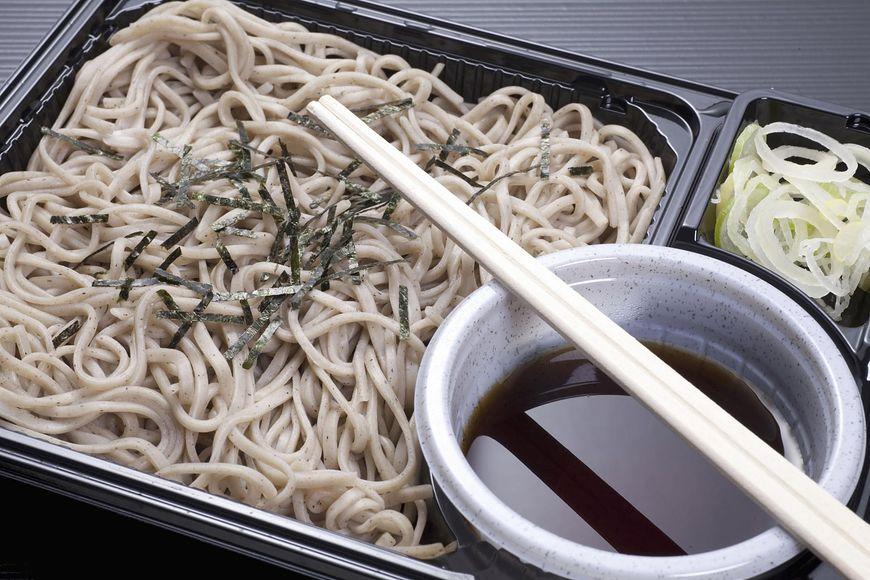 Makaron soba to japoński przysmak