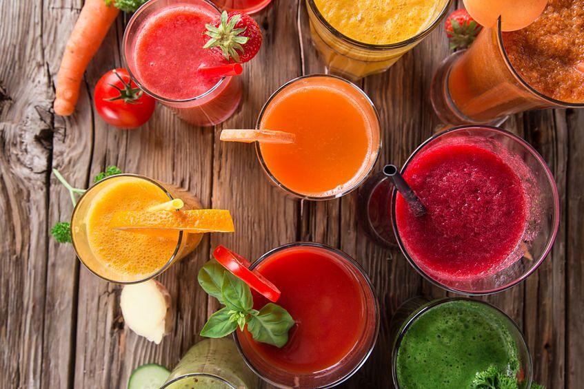 Soki z warzyw i owoców