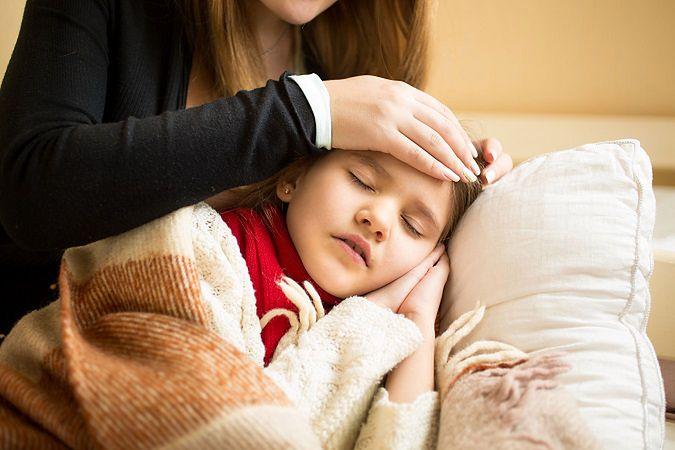Żywienie dziecka w czasie gorączki