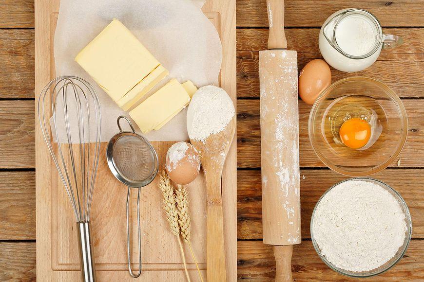 Tłuszcz jest obowiązkowym składnkiem ciast i ciasteczek