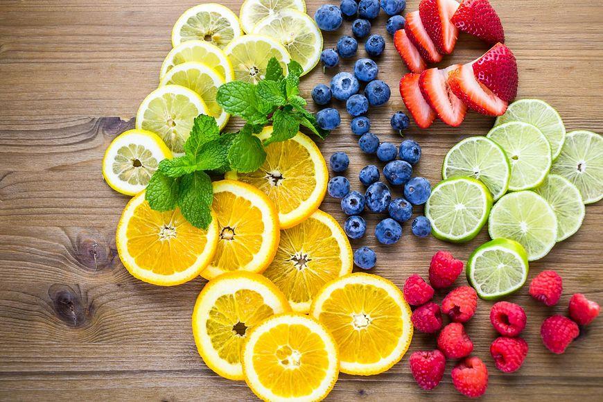 Owoce sezonowa na PMS