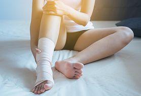 Zwichnięcie kostki. Diagnozowanie i leczenie