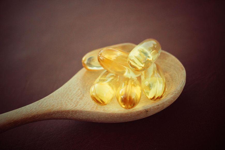 Olej z tłustych ryb z witaminą D