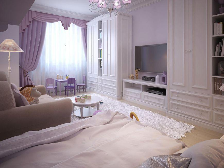 Elegancki wystrój pokoju