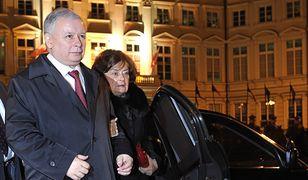 Jarosław Kaczyński często pojawiał się publicznie z matką