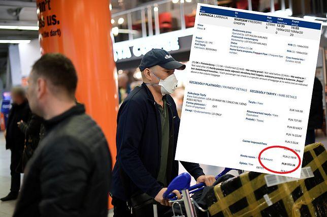 """Koronawirus. Oburzony pasażer pokazuje bilet. Tyle kosztuje """"pomoc"""" od LOT-u"""