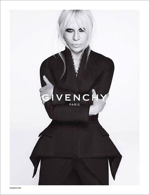 Donatella Versace twarzą marki Givenchy