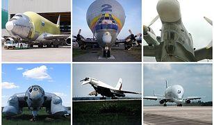 Jedne z najbrzydszych samolotów na świecie. Koszmar projektanta czy jednak design przyszłości?