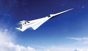 Nadchodzi następca Concorde'a? NASA testuje ponaddźwiękowy samolot