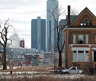 Detroit - upadłe miasto
