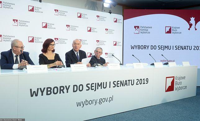 Wyniki wyborów parlamentarnych 2019. Kolejna konferencja PKW